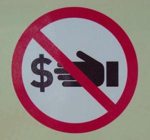 ban bribes