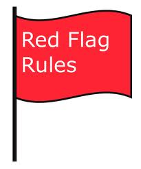 Red-Flag-Rules